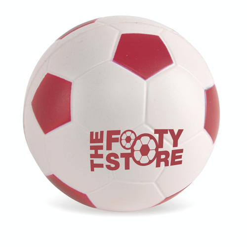 Football 60Mm Football Stress in red