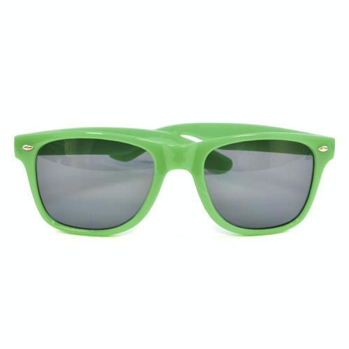 Sunglasses in green