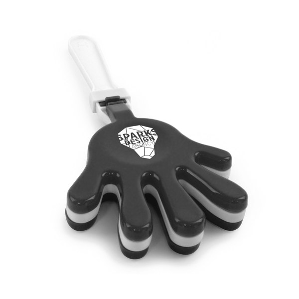 Large Hand Clapper in black