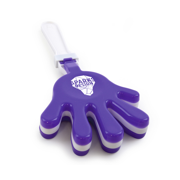 Large Hand Clapper in purple
