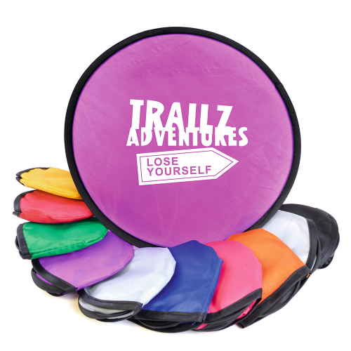 Foldable Frisbee Flying Disc in