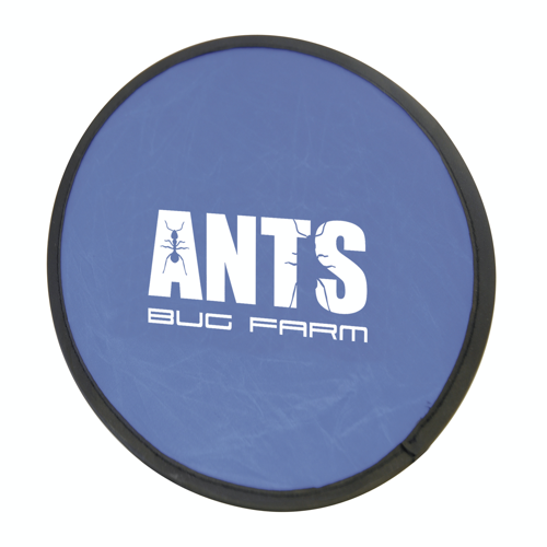 Foldable Frisbee Flying Disc in blue