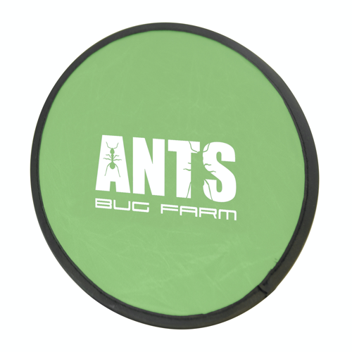 Foldable Frisbee Flying Disc in green