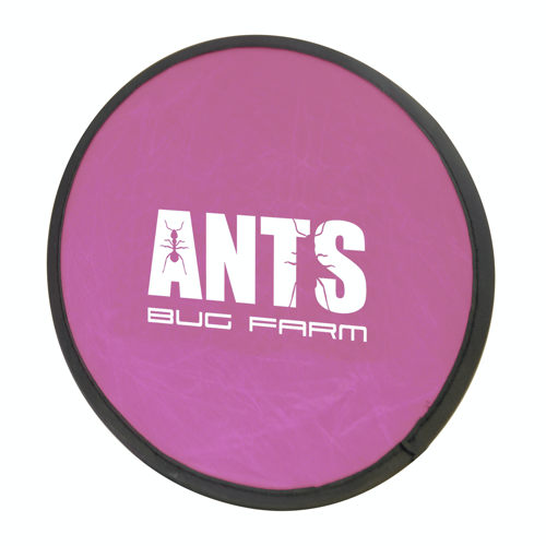 Foldable Frisbee Flying Disc in pink
