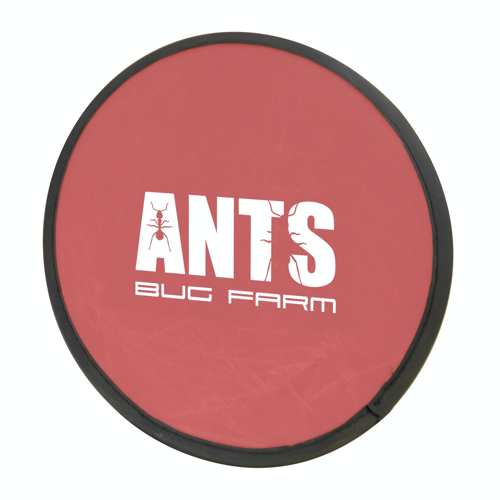 Foldable Frisbee Flying Disc in red