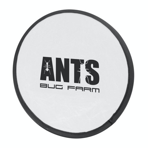 Foldable Frisbee Flying Disc in white