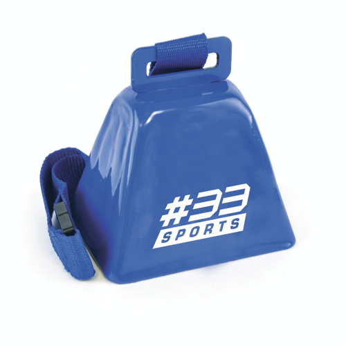 Cow Bell in blue