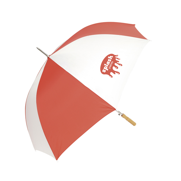 Rockfish 28 Inch Automatic Golf Umbrella in red
