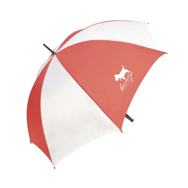 Swift 30 Inch Wind Proof Golf Umbrella in red