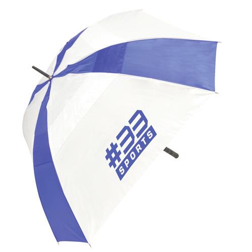 Square 29 Inch Square Manual Golf Umbrella in red