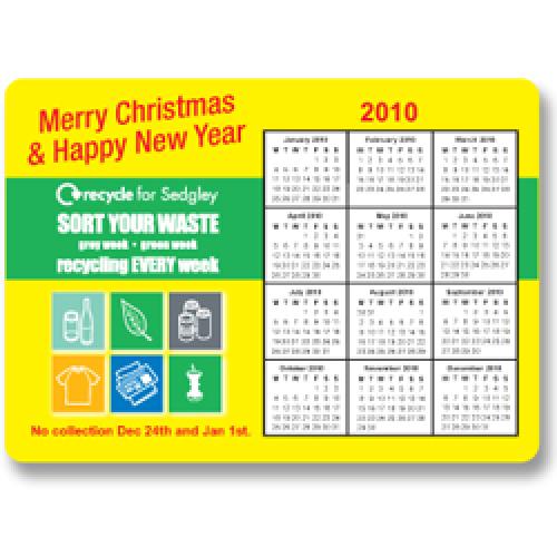 Calendar Magnet - 148Mm X 105Mm