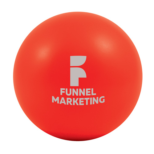 Stress Ball in red