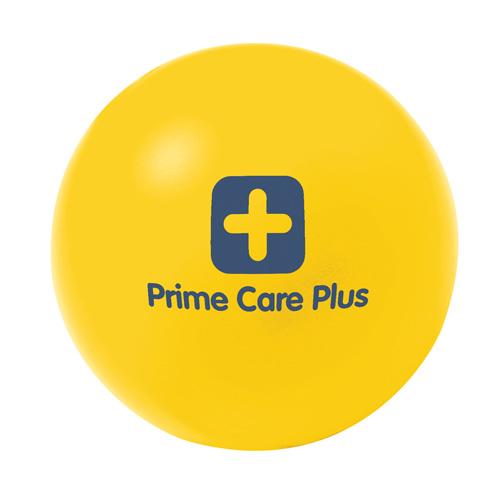 Stress Ball in yellow