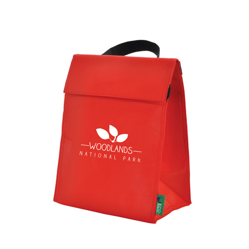 Eco-Friendly Cool Bag in red
