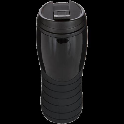 Tracker Mug in white-black