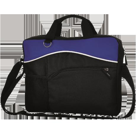 Briefcase Bag in royal-blue