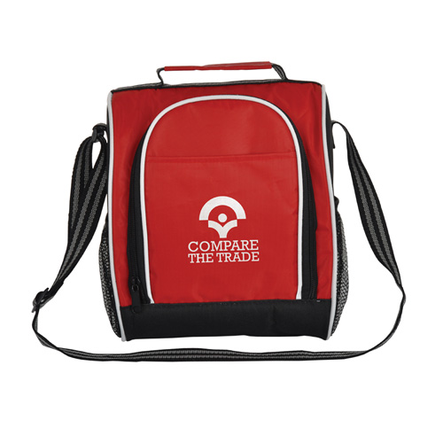Insulated Lunch Bag in red