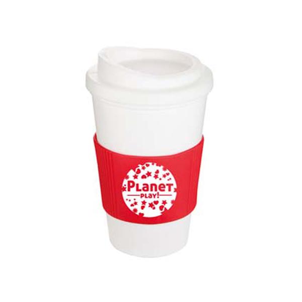 Americano Mug in white-mug-red-grip