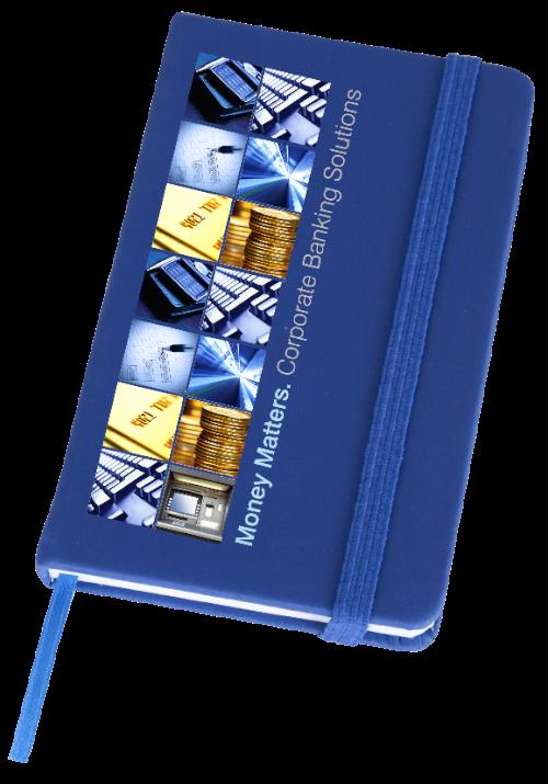 Soft Feel Notebook in blue