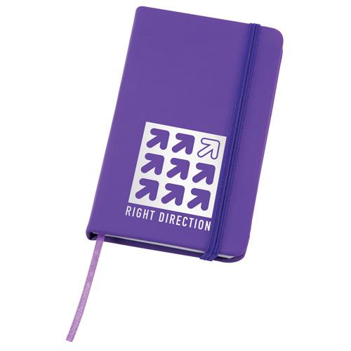 Soft Feel Notebook in purple