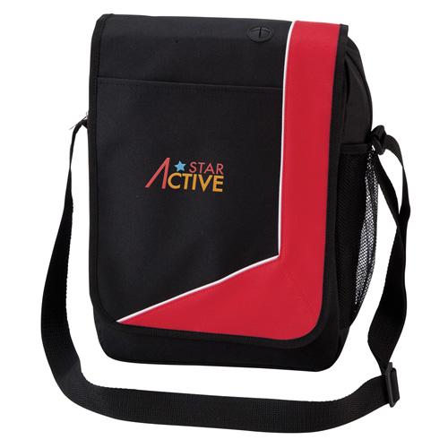 Magnum Messenger Bag in red