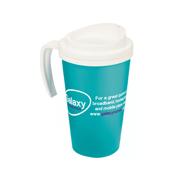 Americano Grande Thermal Mug in aqua