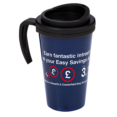 Americano Grande Thermal Mug in blue