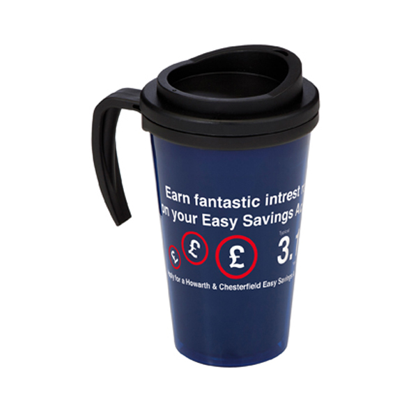 Americano Grande Thermal Mug in trans-dark-blue