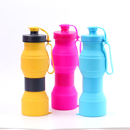 Collapsible Hourglass Bottles