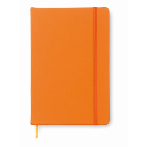 96 pages notebook               in orange