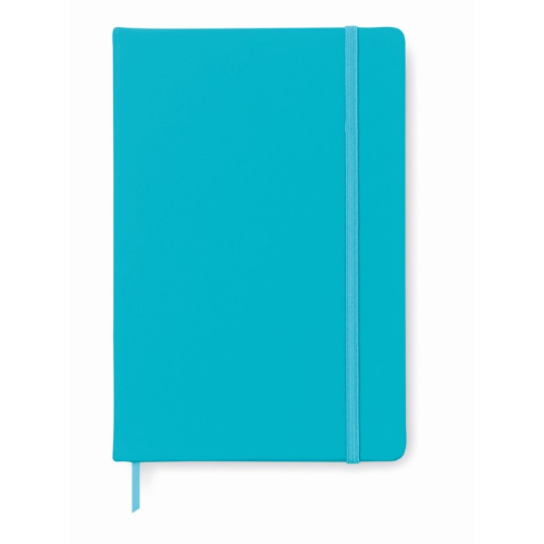 A5 notebook in turquoise