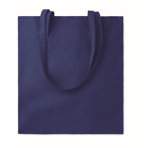 Shopping bag w/ long handles    in blue