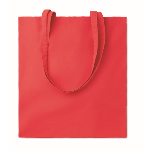 Shopping bag w/ long handles    in red