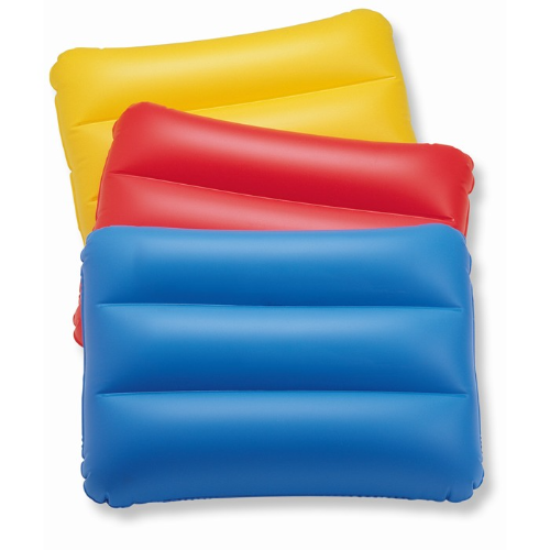 Beach pillow in yellow