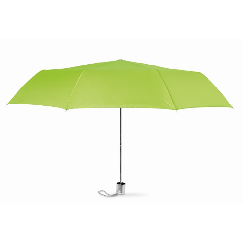 Mini umbrella with pouch in lime
