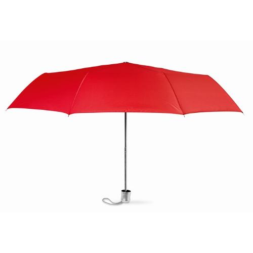 Mini umbrella with pouch in red