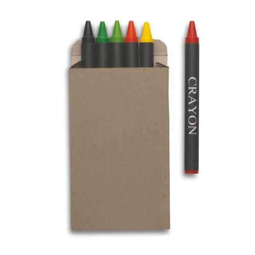 Carton of 6 wax crayons