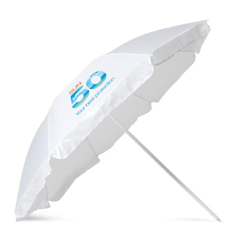 Beach Umbrella in white