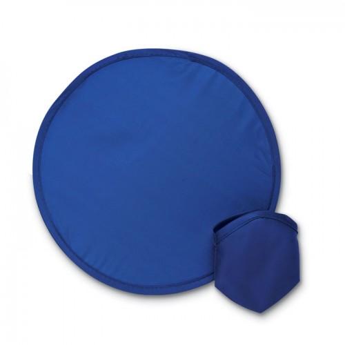 Foldable frisbee in pouch       in blue