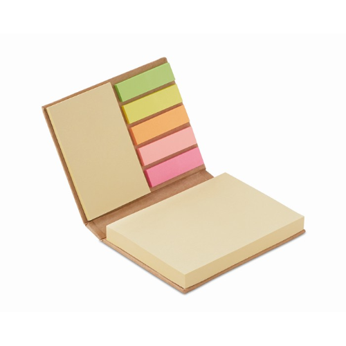 Memo pad set in beige