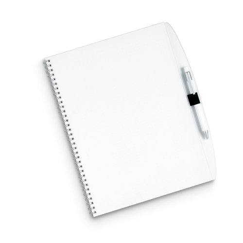 A4 Note Pad in transparent