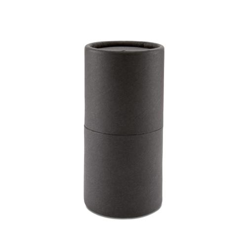 24 Pencils In Paper Tube Box in black