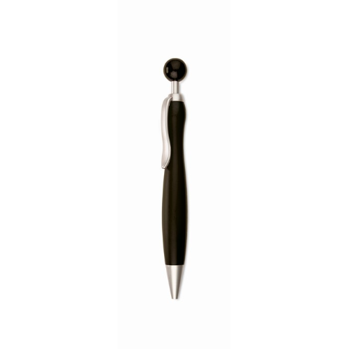 Ball Pen With Ball Plunger in black