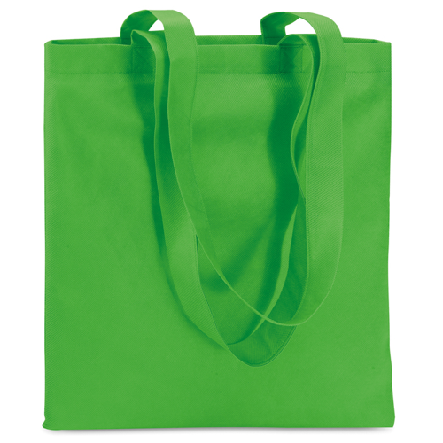 Shopping Bag In Nonwoven in green