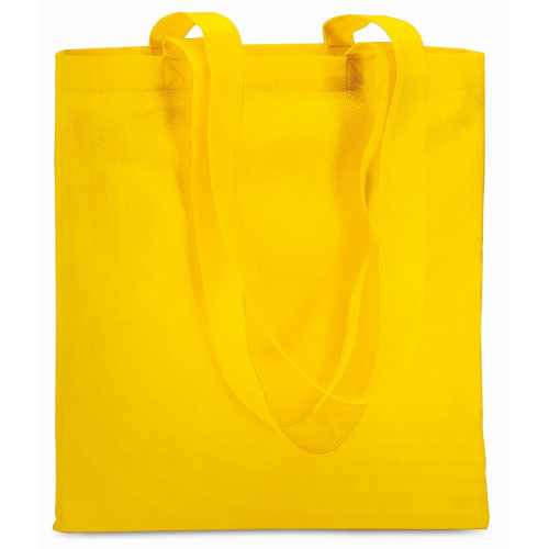 Shopping Bag In Nonwoven in yellow