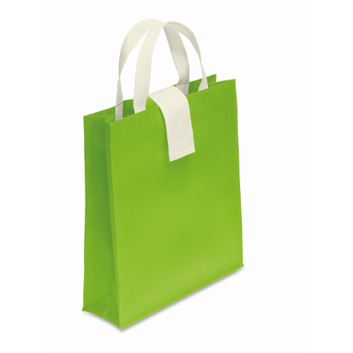 Nonwoven Shopping Bag in lime