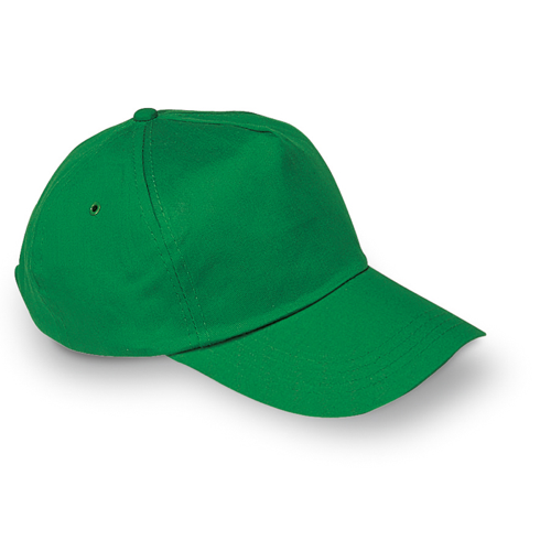 Baseball cap in green