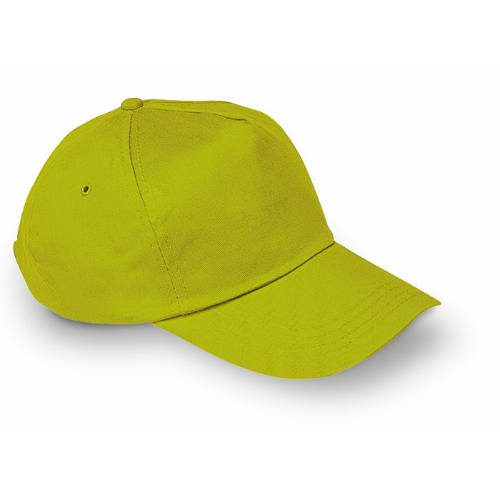 Baseball cap in lime