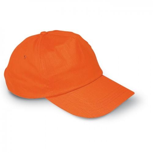 Baseball cap in orange