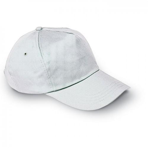 Baseball cap in white